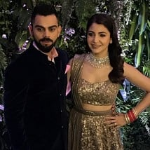 Virat Kohli And Anushka Sharma Reception