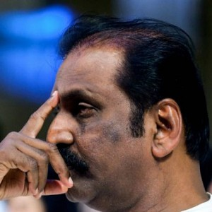 Vairamuthu effigy burnt by protesters over Aandal row