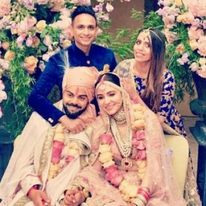 Virat Kohli And Anushka Sharma Wedding