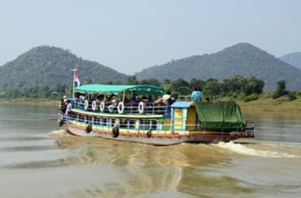 Boat capsizes in Godavari river, at least 40 feared drowned.