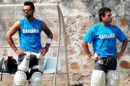 Not right to Compare Virat Kohli with Sachin Tendulkar - Sehwag