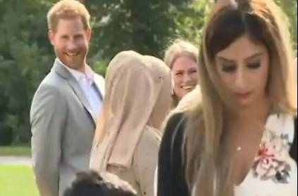 Price Harry becomes viral Samosa Out Of Meghan Markle\'s Charity Event