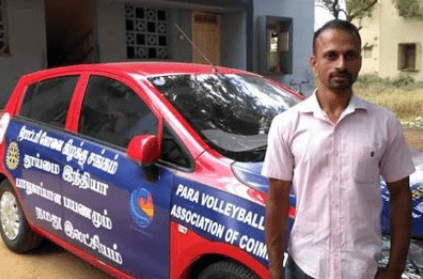 Polio victim takes solo road trip for a noble cause