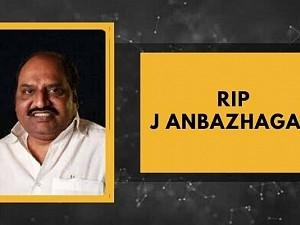 RIP: Popular politician and movie producer J Anbazhagan passes away!