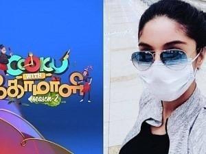 Popular Bigg Boss Tamil actress hints at entering Cooku with Comali S3? Watch VIDEO