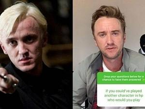 Harry Potter fans alert! Tom Felton's VIRAL REPLY about playing these roles instead of DRACO MALFOY!