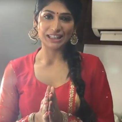 Vijayalakshmi's speech before entering Bigg Boss house